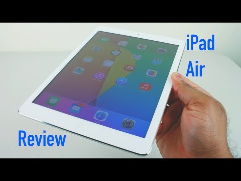 watch Ipad Air  16gb White And Silver video