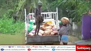 குமரி மாவட்ட அணைகளில் அதிக அளவு நீர் திறக்கப்பட்டதால், குடியிருப்புகளில் வெள்ளம் சூழ்ந்துள்ளது