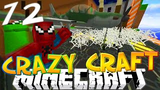 """Minecraft CRAZY CRAFT 3.0 #72 """"SPIDERMAN PRANK!"""""""