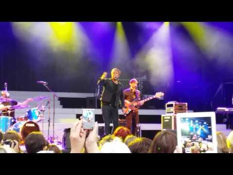Kian Egan does Westlife, Boyzone BZ20 @ Thetford Forest 11. 07.14