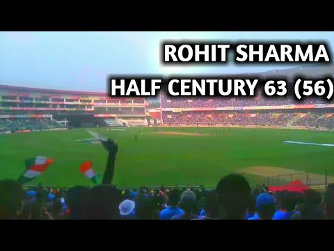 Rohit sharma half century 63 vs west indies || india vs west indies 5th odi highlights 2018 ||