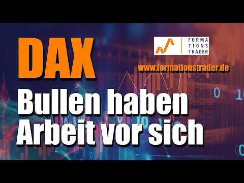 Dax: Bullen haben Arbeit vor sich