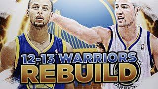 PRE-SUPER TEAM! '12-'13 GS WARRIORS REBUILD! NBA 2K18