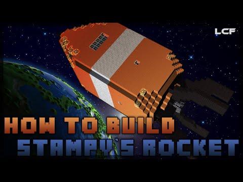 How to build Stampys Rocket Minecraft Tutorial 1 2