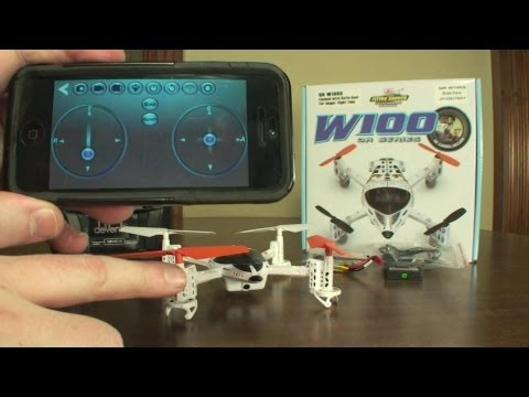 Walkera QR W100S WiFi FPV - Review and Flight