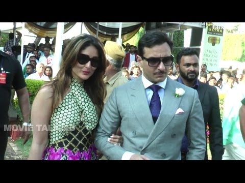 Kareena Kapoor & Saif Ali Khan At Macdowells Derby 2016