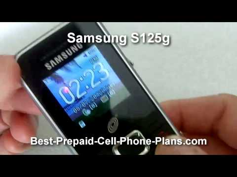 Samsung S125g review