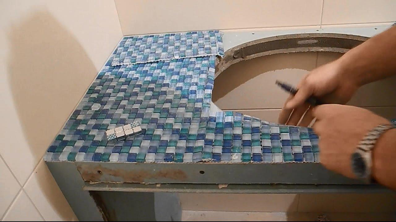 Раковины из мозаики своими руками 87