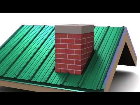 Монтаж профнастила с замком на крышу своими руками фото и видео-инструкция 23