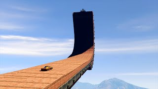 SKY STUNT PARK! (GTA 5 Funny Moments)