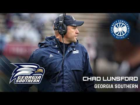 Georgia Southern Head Coach Chad Lunsford: 9/17 Media Teleconference