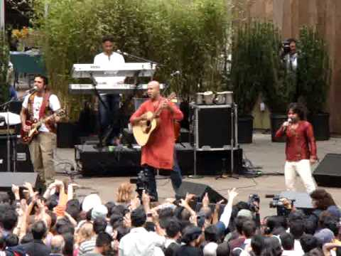 Teri Deewani Kailash Kher  Stern Grove Concert