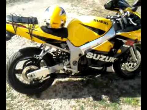 2001 suzuki gsxr voodoo exhaust - YouTube