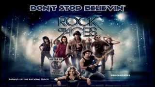 Don 39 T Stop Believin 39 Rock Of Ages Backing Track Karaoke Instrumental