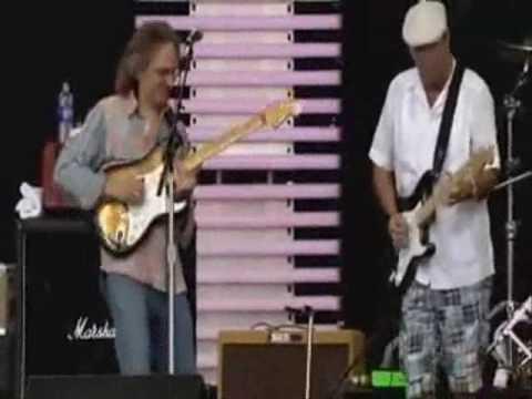 Sonny Landreth ft Eric Clapton - Hell At Home @ Cross Roads Guitar festival 2007