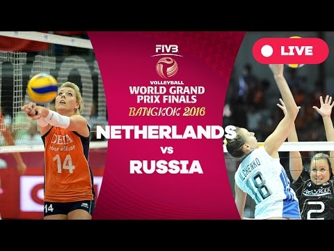 Netherlands v Russia - Finals: 2016 FIVB Volleyball World Grand Prix