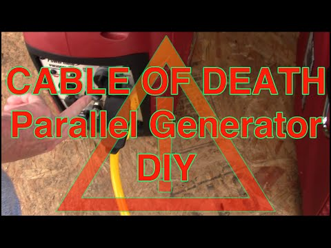 How to make an Inverter Generator Parallel Cable  AKA Cable of Death