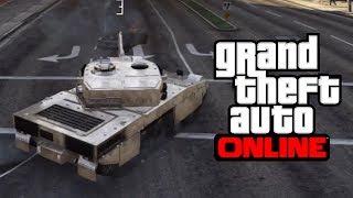 GTA 5 Online: CHROME TANK ONLINE! - How To Get A CHROME TANK Online! (GTA V)