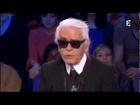 Karl Lagerfeld - On n'est pas couché 9 mars 2013 #ONPC