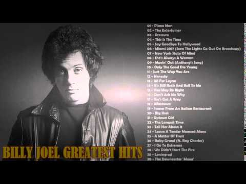 BILLY JOEL GREATEST HITS 2015    Top 30 Billy Joel Songs