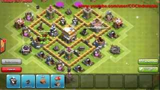 Trophy Base Untuk Town Hall Level 5 (Speedbuild)