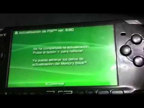 Como actualizar y Hackear una PSP  version 6.60