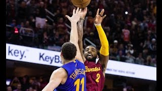 Kyrie Irving Game Winning Shot Against Warriors On Christmas!  12.25.16