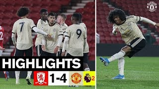 U23 Highlights | Middlesbrough 1-4 United | The Academy