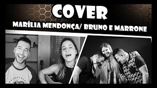 Transplante cover - Marilia Mendonça e Bruno e Marrone - Lidiane e Bruno Maia