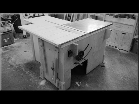 Taking Apart My Homemade Table Saw