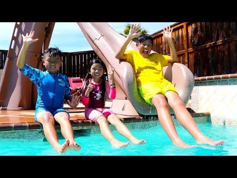 Swimming Song | Emma Pretend Play Nursery Rhymes & Kids Songs