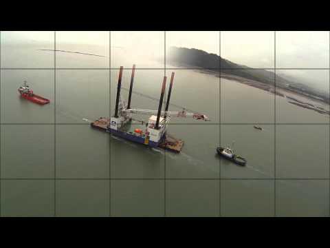 Panama Canal Passage Bremen Hunter + JB119/ODIN