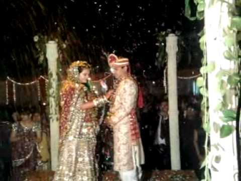 Ravi's Wedding : Garland Ceremony