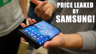 Samsung Foldable Phone Price LEAKED AGAIN | Infinity O display