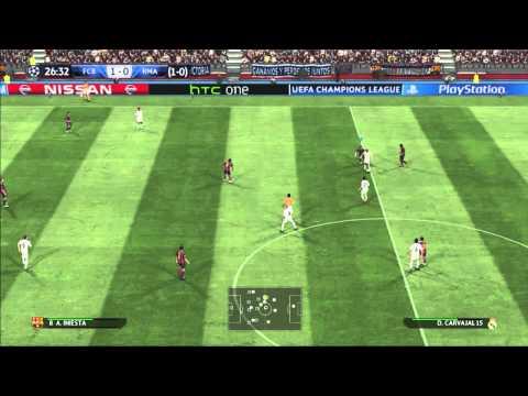 (PES 2015) : Barcelona vs Real madrid - Semifinal (UEFA Champions League)(PT-BR)