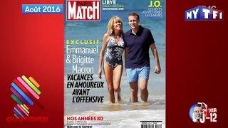 Les Macron et la crème des paparazzi - Quotidien du 25 Avril