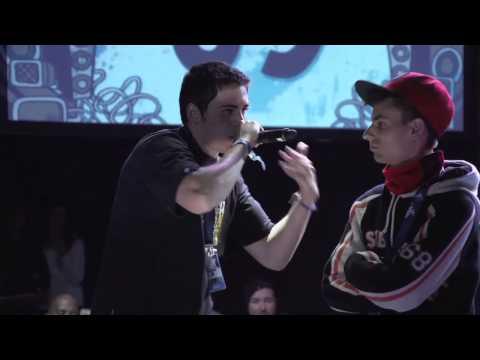 Elekipo vs Estigma - Cuartos - Granada - RedBull Batalla de los Gallos 2013 (Oficial)
