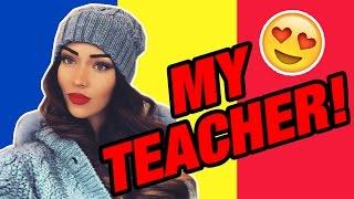 THE BEST ROMANIAN TEACHER!!! (Speaking Romanian #8) || Baylike
