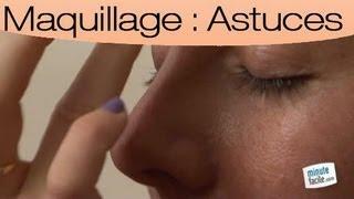 Affiner son nez avec du maquillage