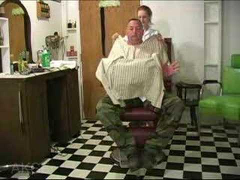 preview video clip -- Barber Barberette shaving video