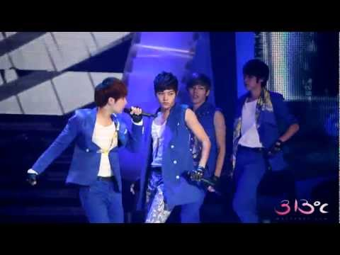 120706 [FANCAM] MyungSoo - The Chaser © Open Concert London Olympic Fighting Korea Special