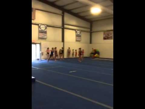 Calla Kimsey level 10 double back 2012