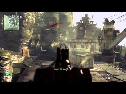 "Gawley Shits on Kids Ep. 1 Mw3 1v1 Face Off on ""Aground"" w/ Gold Scar-L"