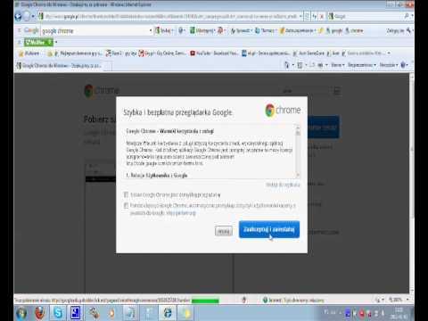Jak Pobrać I Zainstalować Google Chrome