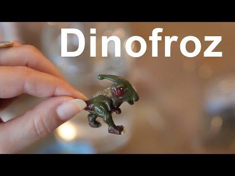 Dinofroz - Dinosaur Egg unboxing Parasaurolophus