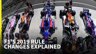 F1's 2019 rule changes explained