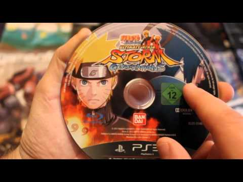Naruto Ultimate Ninja Storm Generation Card Edition Unboxing