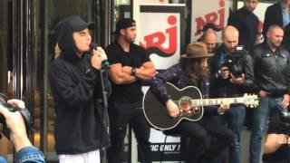 All That Matters - LIVE ACOUSTIC - Justin Bieber @ Paris NRJ