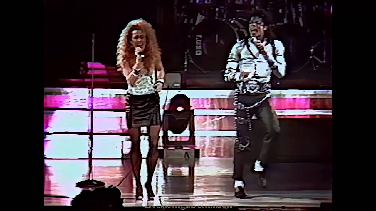 ... Just Cant Stop Loving You - Live Wembley 1988 - HD - YouTube