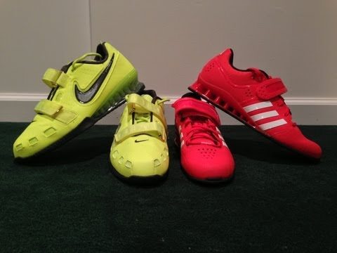 Adidas Adipower vs Nike Romaleos 2 Weightlifting Shoes Review